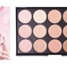 2014 New Pro Salon Party Makeup 15 Color Concealer Eyeshadow Palette Contour Face Cream # 57322