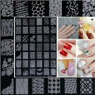 Stamping DIY Nail Art Image Template Plates Designs Patterns Female XY14 #59710