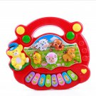 Baby Kid Musical Educational Animal Farm Piano Music Toy Developmental