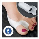 2pair Little Toe Bunion Cushion Pain Toe Separators 4pcs Feet Foot Care Relief GEL Straighteners