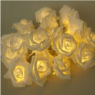 Special Design 3M 20 Rose Flowers String Lights Wedding Party Home Patio Decor Lighting #56892