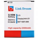 High Capacity Link Dream 3.7V 2300mAh Replacement Battery for Samsung Galaxy S3 mini i8160 114418501