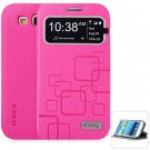 KAKU Practical PC and PU Cover Case for Samsung Galaxy S3 i9300  rose