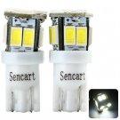 2pcs Sencart T011 T10 3W 80 - 120lm White Light 11 SMD 5730 LEDs Car Reading Light (12 - 16V)