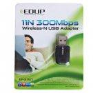 EP-N1571 Mini High Power 802.11N 300Mbps USB Wireless WiFi Adapter Network Card  NN0028001