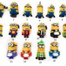 4 GB Cartoon Minions toy model  USB 2.0 Memory Stick Flash pen Drive