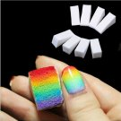 24pcs Gradient Nails Soft Sponges for Color Fade Manicure  Nail Art Tools Accessories #61295