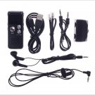 8GB CL-R30 650Hr Dictaphone MP3 Player Digital Voice Recorder Black