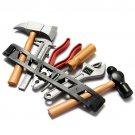 1set Children Kids Boy Building Tool Kits Set DIY Construction Toy Plastic Gifts