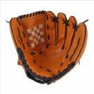 Dark Brown Durable Men Softball Baseball Glove