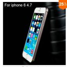 "Ultra thin Slim Aluminium Metal Bumper Frame Case For Apple Iphone 6 4.7""  COLOR COFFEE"
