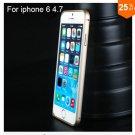 "Ultra thin Slim Aluminium Metal Bumper Frame Case For Apple Iphone 6 4.7""  COLOR GOLD"