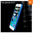 "Ultra thin Slim Aluminium Metal Bumper Frame Case For Apple Iphone 6 4.7""  COLOR NAVY BLUE"