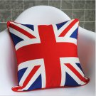 2x Comfortable Soft Personalised UK British Flag Tapestry Pillow Cushion Cover