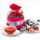 50 Kinds Flavor Pu er, Pu'erh tea, Mini Yunnan Puer tea ,Chinese tea, With Gift Bag,