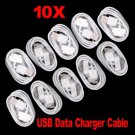 Charger Cable Data Sync Cord 10 pcs for Apple iphone 3G 4G 4S      SKU:19413