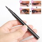 Waterproof Eye Liner Pen Liquid Solid Makeup Black Eyeliner Pencil