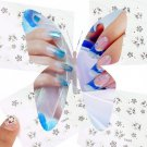Sparkling 3D DIY Tips Sticker Nail Art Cosmetic Decal Butterfly Makeup Nail Seal