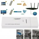 802.11 AC 1200M 2.4G/5.8G Dual-Band Support SuperSpeed Usb 3.0 Wireless Adapter