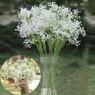 12pcs Babysbreath Artificial Silk Wedding Flowers Home Bar Plant Decor