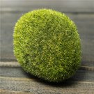 Green Artificial Moss Stone 1x Grass Plant Poted Home Garden Decor DIY Landscape