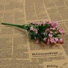 1 Bouquet Silk Artificial baby's breath Gypsophila Flower Wedding Home Decor (COLOR PINK