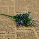 1 Bouquet Silk Artificial baby's breath Gypsophila Flower Wedding Home Decor (COLOR LIGHT PURPLE