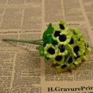 1 Bunch 30 Heads Artificial Sunflowers Silk Daisy Bouquet Flowers Home Decor (green