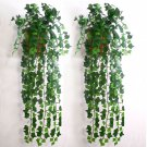 7.5feet Artificial Ivy Leaf Garland Plants Vine Fake Foliage Flowers Home decor