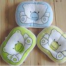 1x Bear Shape Prevent Flat Head Cotton Baby Infant Kid Soft Cot Pillow Cushion Pad
