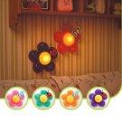 Baby Kids Funny Nursery Room Decor Bedside Flower LED Touch Lamp Night Light