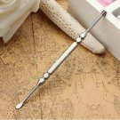 2in1 Stainless Steel Ear Pick Curette Wax Earpick Removal Remover Cleaner Tool