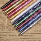 12 Color Professional Makeup Eye Shadow Lip Liner Eyeliner Pen Pencil Set