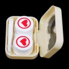 1x 3D Cute Cartoon Eye Shape Contact Lens Box