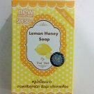 Gluta Pure Soap wink white Whitening  Soap 70g ( LEMON HONEY SOAP
