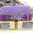1* Lavender handmade soap Skin whitening Cleansing Soap