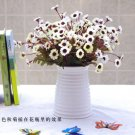 Artificial Cineraria Chrysanthemum Silk Flower Bunch Home Wedding Party Deocr( COLOR WHITE