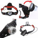 Camping 800lm 2Mode Cree Q5 LED Waterproof Zoomable Headlamp Headlight Hiking