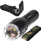 UltraFire 2000Lm Cree XML T6 LED 5Mode Zoom Focus 18650 Flashlight Torch+Holster