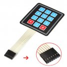 1PCS Matrix Array 12 Key Membrane Switch Keypad Keyboard For Arduino AVR 4 x 3