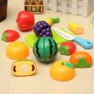 1 Set Kitchen Fruit Vegetable Knife Cutting Pretend Play Children Kids Baby Toys