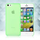 0.3mm Ultra Thin Matte Frosted Clear Soft TPU Back Case Cover Fr Apple iPhone 5C(COLOR GREEN