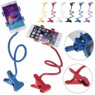 Universal Lazy Bed Desktop Car Stand Mount Holder For Cell Phone iPhone Long Arm (COLOR BLUE