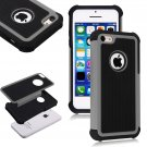 Apple iPhone 5C Colorful Heavy Duty Hybrid Rugged Hard/Soft Matte Cover Case(COLOR  GREY