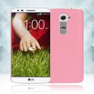 Snap on Hard PC Back Case Cover Skin Protective For LG G2(COLOR PINK