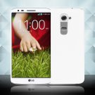 Snap on Hard PC Back Case Cover Skin Protective For LG G2(COLOR  WHITE