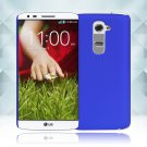 Snap on Hard PC Back Case Cover Skin Protective For LG G2(COLOR  DARK BLUE
