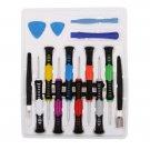 Repair Tool Kit Screwdrivers For iPhone 4S 5 5S 5C Samsung Pry Tools 16 in 1 Kit