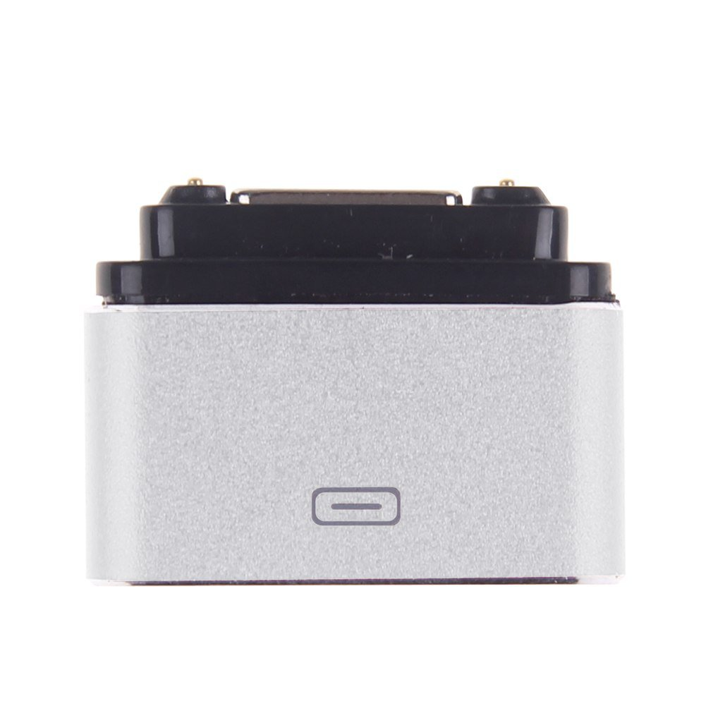 Micro USB Magnetic Cable Charger Dock Adapter Converter For Sony Xperia Z1/Z2/Z3 (COLOR SILVER