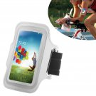 Armband Case Cover Holder Fr Samsung Galaxy S4 Mini i9190 (COLOR SILVER
